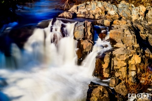 Over the falls