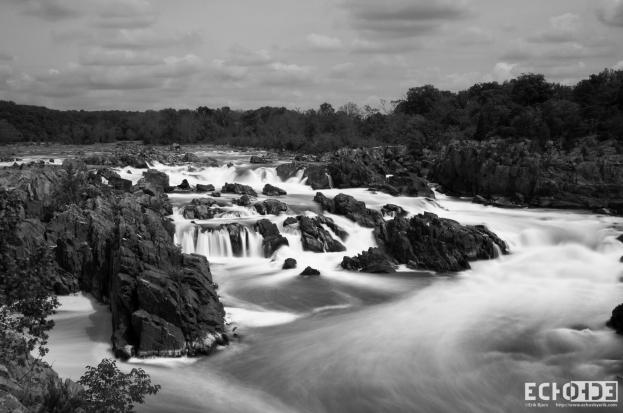 River of Silk B&W