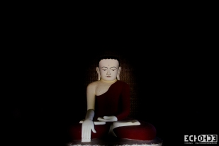 Buddha in the dark