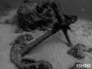 This is why you always make sure your anchor chain is securely attached before throwing it over board.