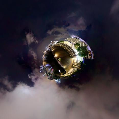Marina Bay Sands 7 Panorama
