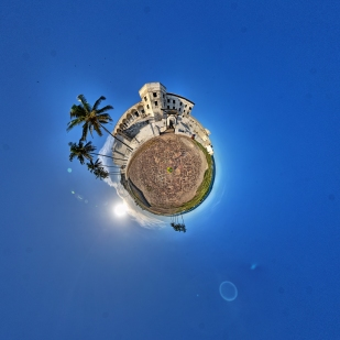 Planet Elmina Castle Cape Coast Ghana - Front Gate