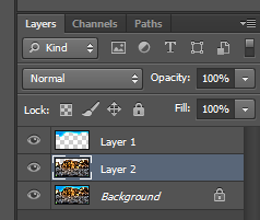 You should now have 3 layers