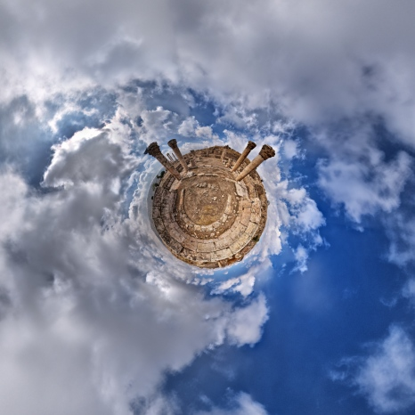 Planet Byzantine Church - Amman Citadel - Amman, Jordan