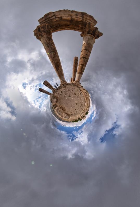 Planet The Temple of Hercules - Amman Citadel, Jordan
