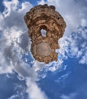 PLANET_Audience Hall (Iwan) & Throne Chamber - The Umayyad Complex - Amman Citadel - Amman, Jordan