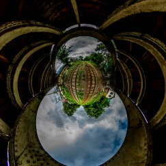 PLANET_JPG - Erik BJers - Phaya Lan and Yangon Central Stations - Yangon (Rangon), Myanmar (Burma) - Under the Bridge